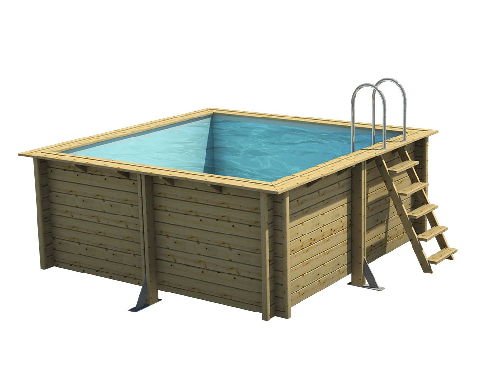Piscine bois sun spa france for Procopi piscine